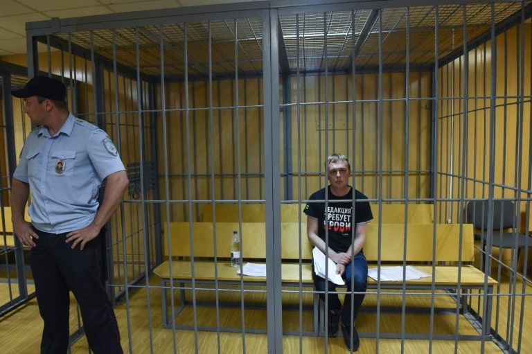 russian journo walks free