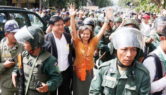 CNRP lawmaker-elect Mu Sochua