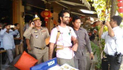 Alex arrested