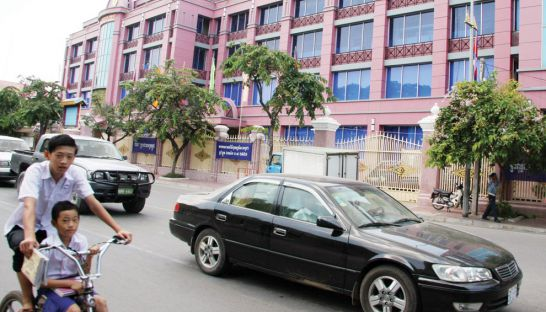 The head office of the National Bank of Cambodia in Phnom Penh. Eight years after the last increase, the central bank announced yesterday it is raising the minimum capital requirement for banking institutions.