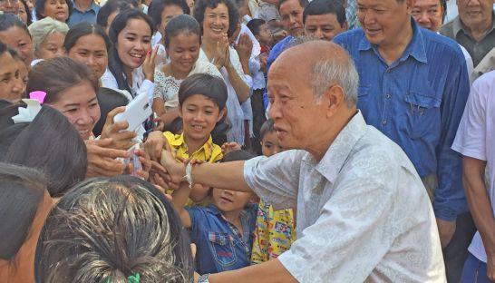 Funcinpec party president Prince Norodom Ranariddh