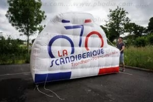velo gonflable geant scandiberique