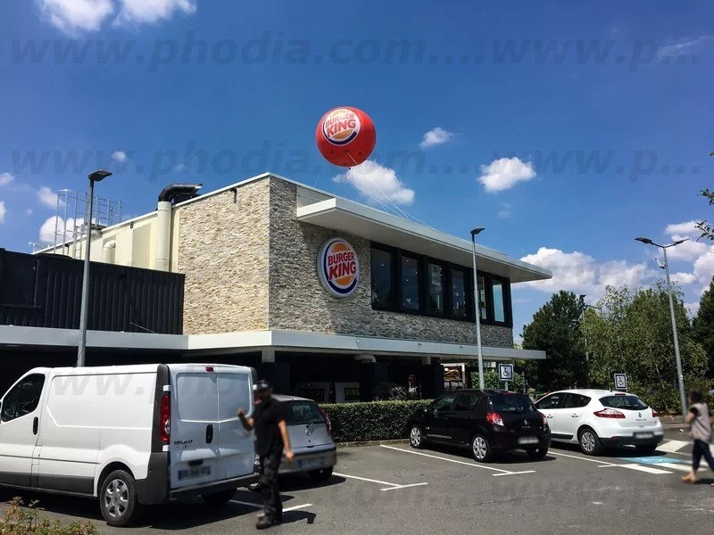 ballon burger king 3m