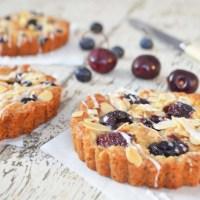 warm cherry tart {gf, vegan}