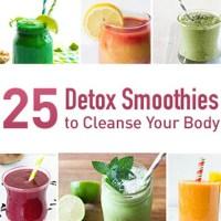 25 detox smoothies