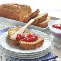 Peanut Butter Honey Quick-Bread