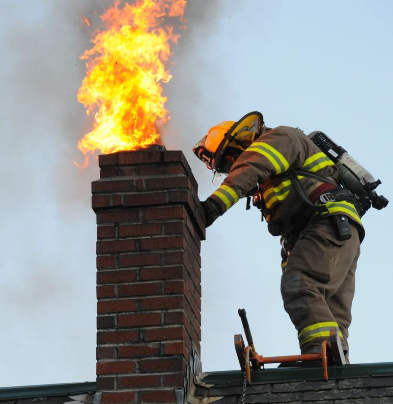 Chimney Fire   PHOENIX CHIMNEYS