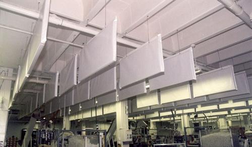Acoustic Ceiling Baffles