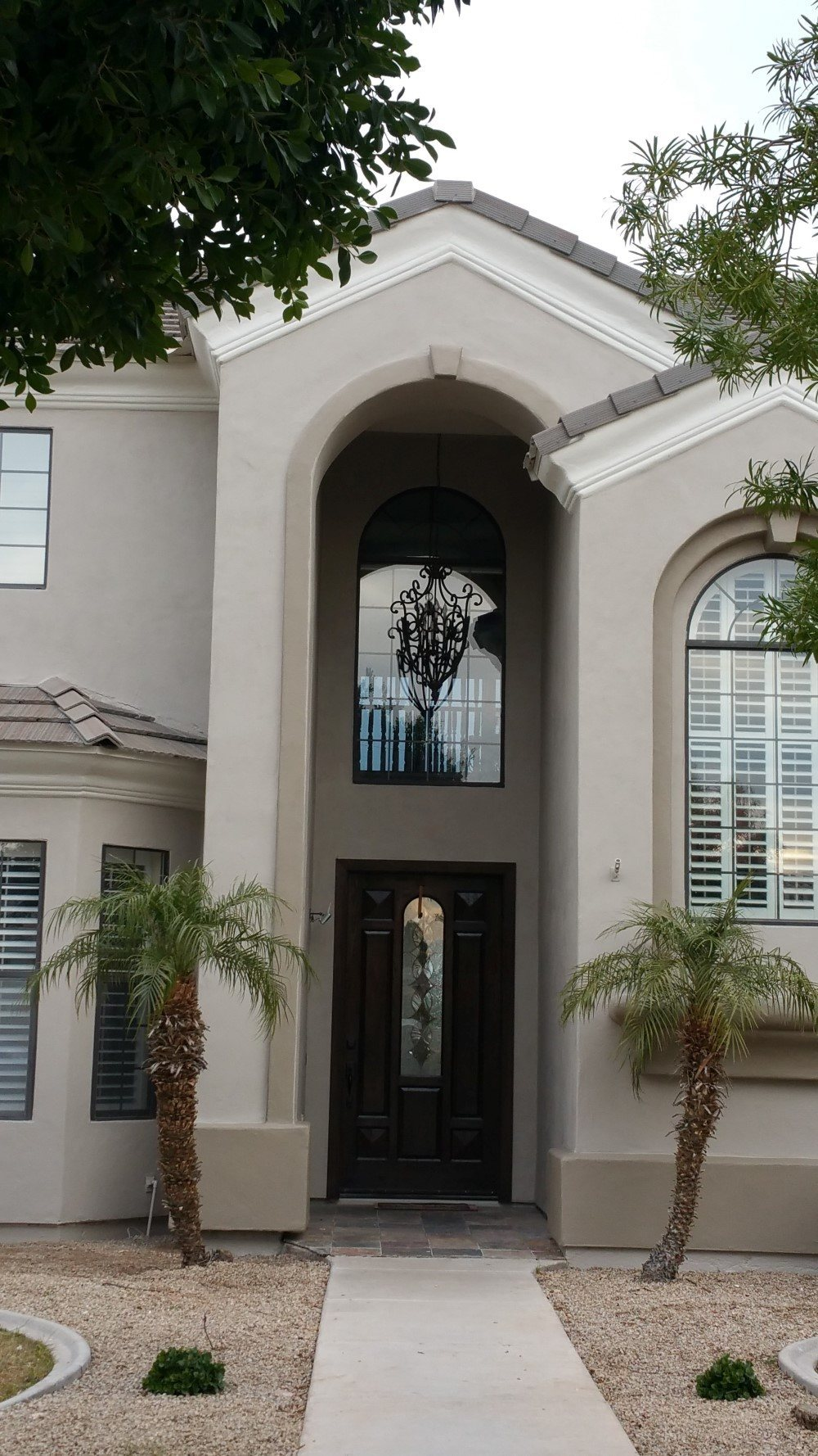 Custom House Exterior Painting Project In Mesa Az