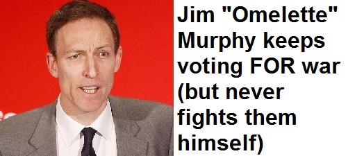 Jim Murphy Loves War