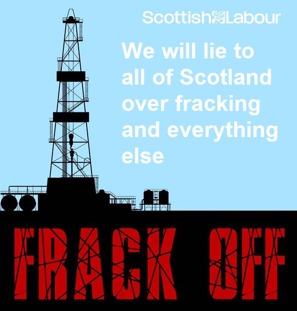 Labour's Fracking Poster