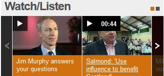 Alex Salmond video length