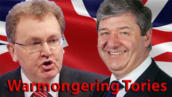 Warmongering Tories