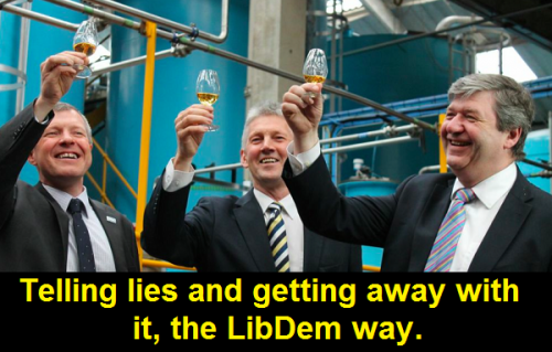 Carmichael and Willie toast the lies
