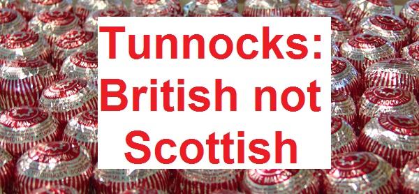 Tunnocks: British not Scottish