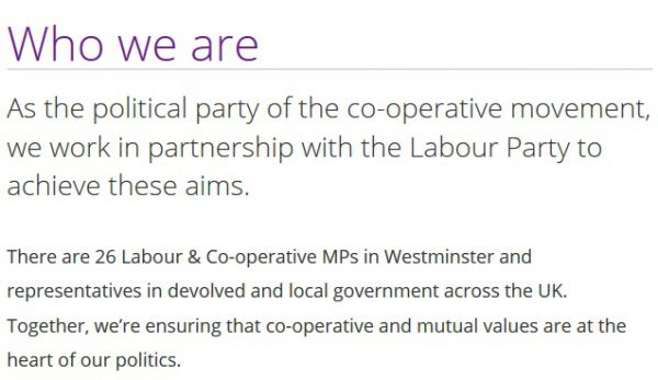 About the Co-operative Party