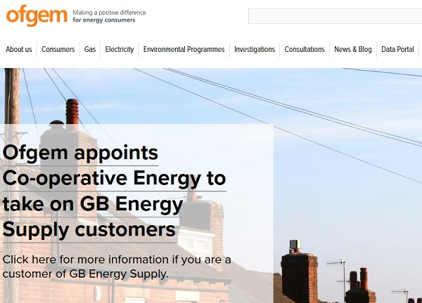 OFGEM Announcement