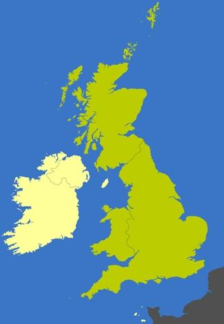Hard border mainland UK