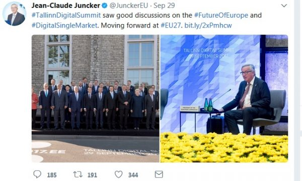 Junker tweet