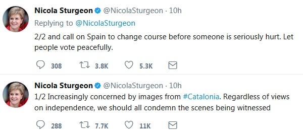 Sturgeon tweets