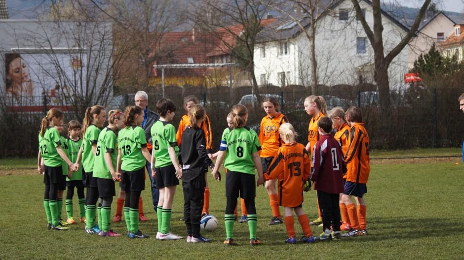 D-Juniorinnnen vs Bergheim