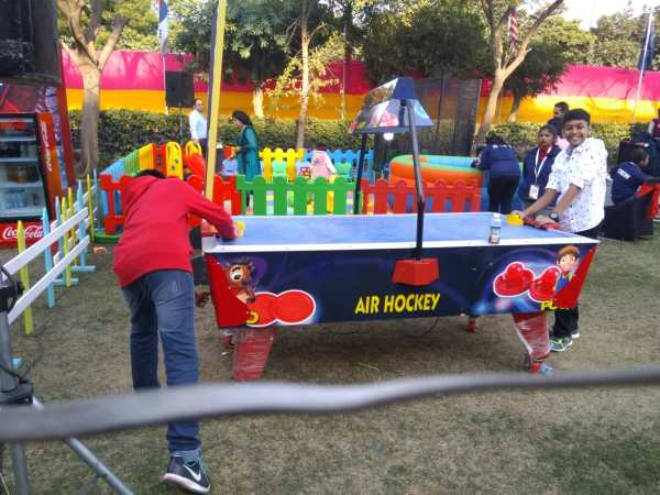 Air hockey, size 4×8 , 2 person at time play the game