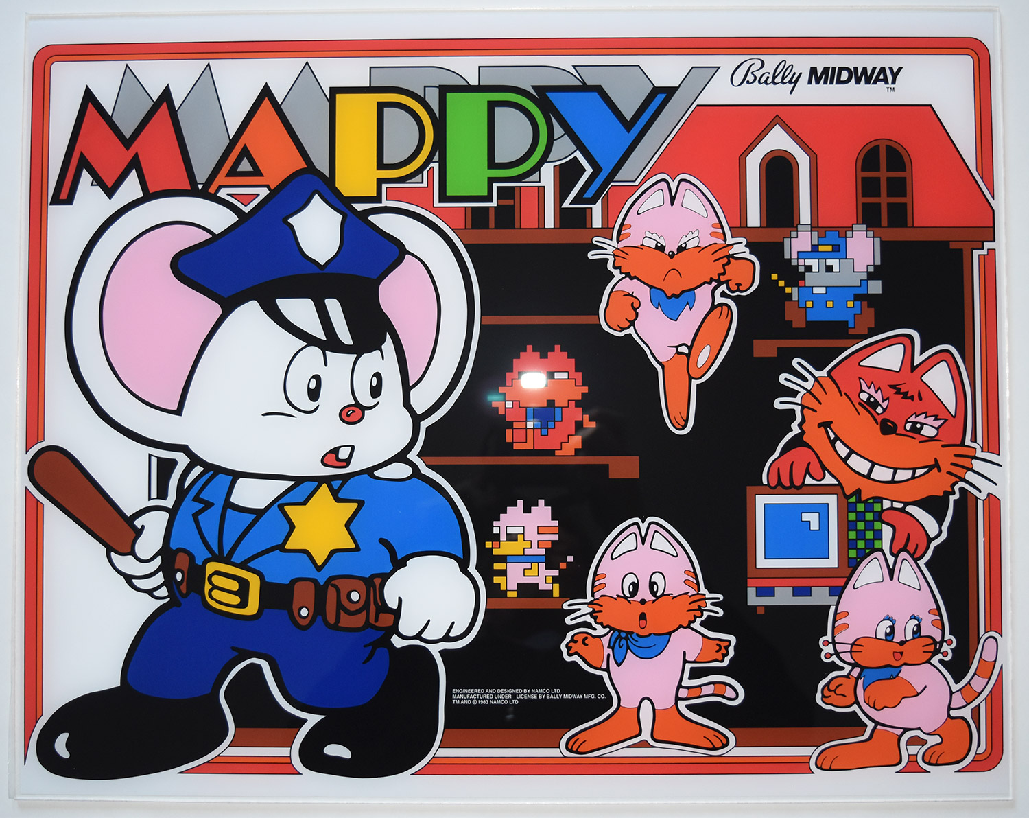 Mappy Marquee  Phoenix Arcade  1 Source for Screen