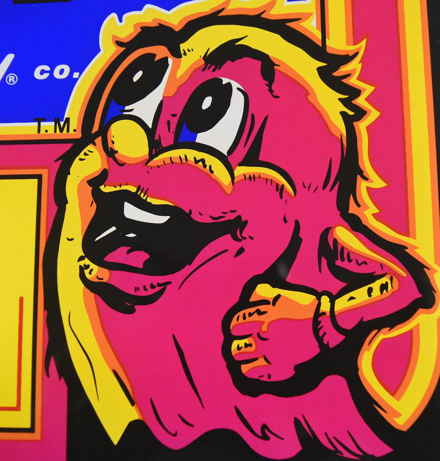 Ms PacMan Plexiglass Marquee  Phoenix Arcade  1