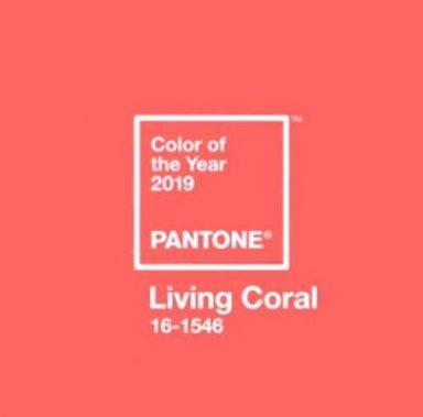 Top trend matrimoni 2019: Pantone Living Coral!