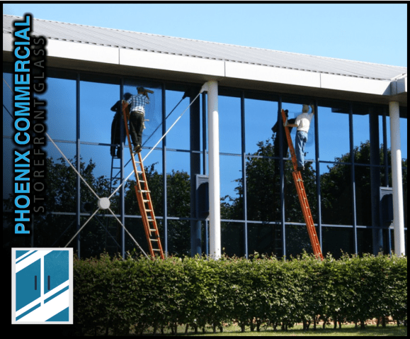 85 phoenix commercial storefront glass repair install services 1