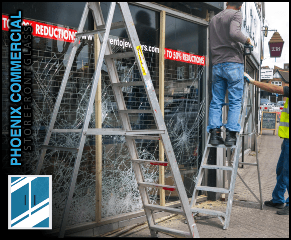 85 phoenix commercial storefront glass repair install services 4