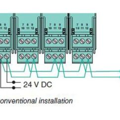 Daisy Chain Wiring Diagram 3 Tier Internet Architecture Dc Series Free For You Phoenix Contact Relay 36 Lights Cable