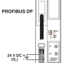 Profibus Dp Wiring Diagram Heidenhain Encoder Phoenix Contact Bus Coupler Axl F Bk Pb 2688530 Connection