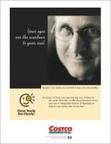 Costco Eye Exam Ad
