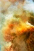 Fantasy – billows of orange smoke