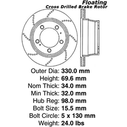 BR 37038P Manufactured to meet QS and ISO Quality System
