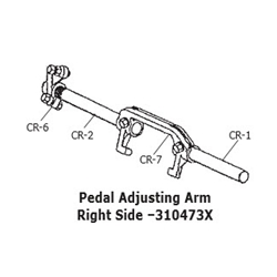 CRP 310473X Lever Adjusting Arm: Right Side