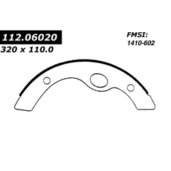 BS 602 Severe Duty Brake Shoes: Mitsubishi Fuso FH, UD