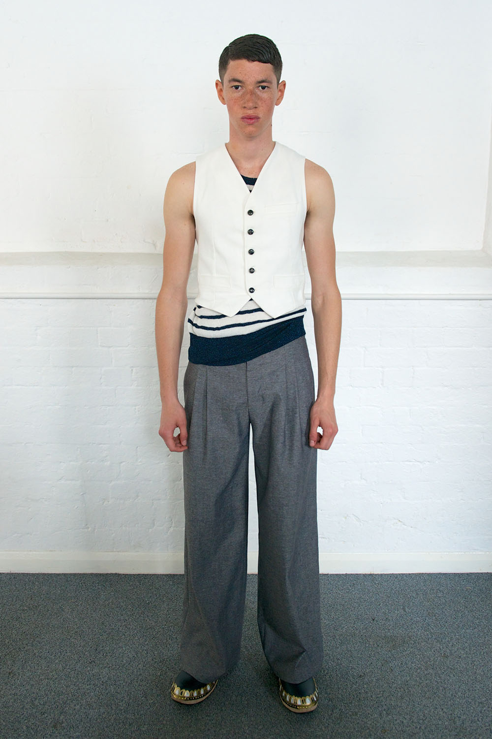LONDON COLLECTIONS: MEN SS14   Meadham Kirchhoff