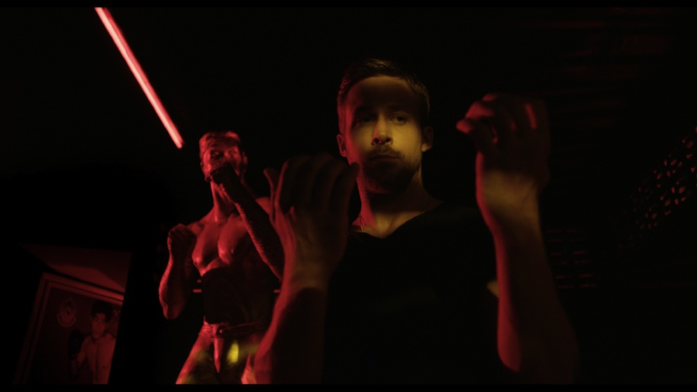Only God Forgives martial arts neon