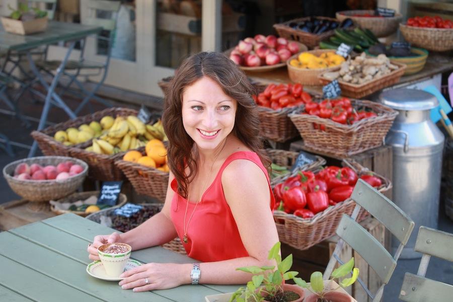 Marisa Leaf at Franklins Farm Shop by Rebecca Reid