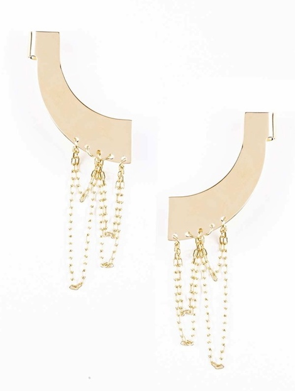 Francesca Maria Pepe Ear Cuff Chain Set