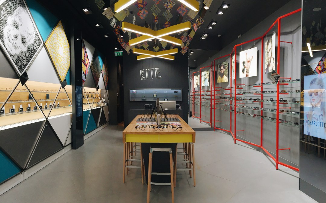 Hawk eye vision with eyewear brand KITE