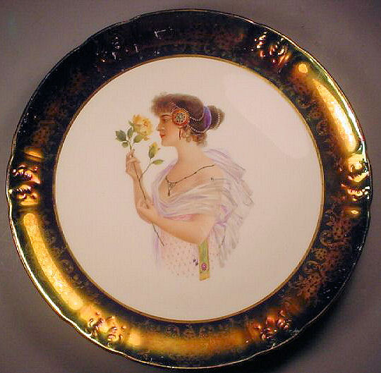 KT 1904 Gibson Girl Portrait Plate No 4