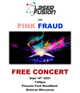 SCARECROW FEST - Pink Fraud with Laser Fusion