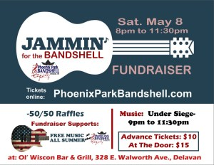 Jammin' for the Bandshell @ Ol' Wisco Bar & Grill Saturday May 8th, 2021 @ Ol' Wisco Bar & Grill