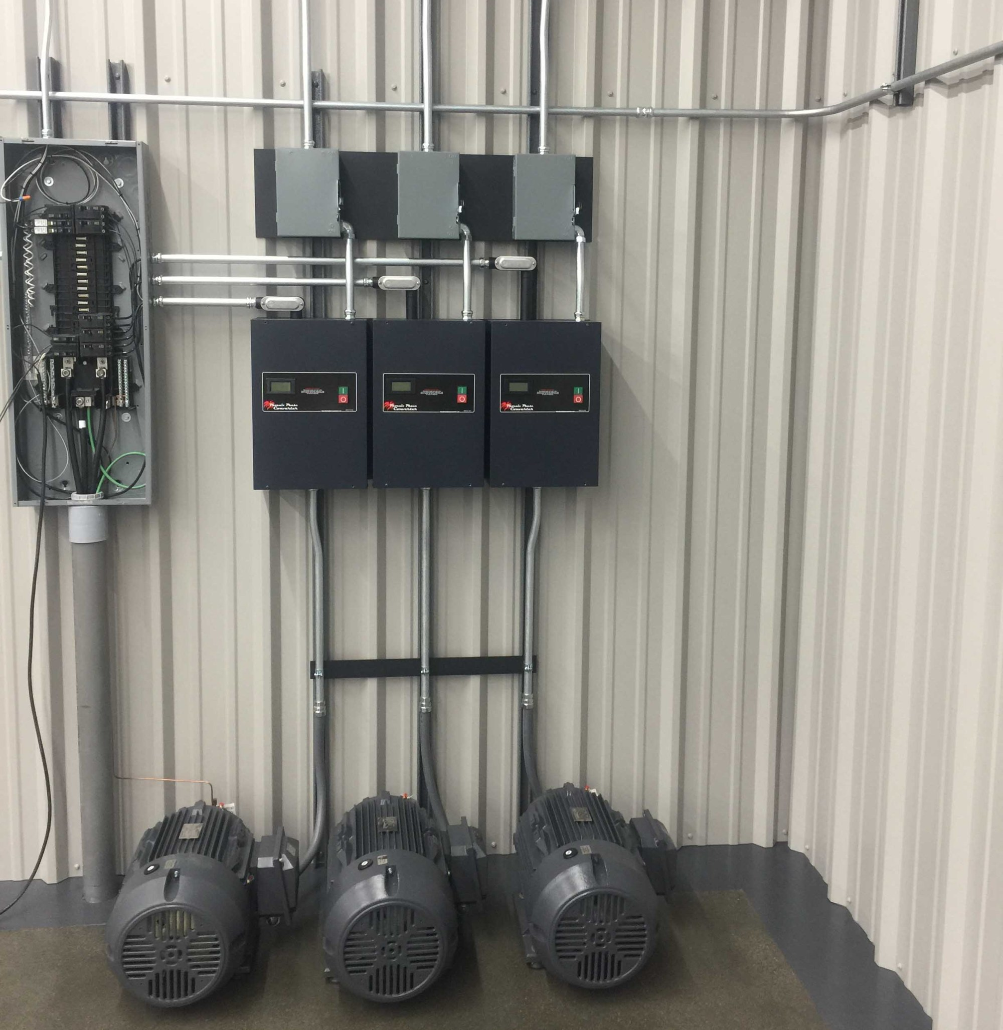 hight resolution of adding two or more phase converters together