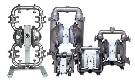 Wilden Saniflo Air Operated Double Diaphragm Pumps at