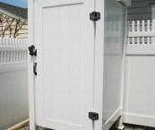 outdoor shower doors