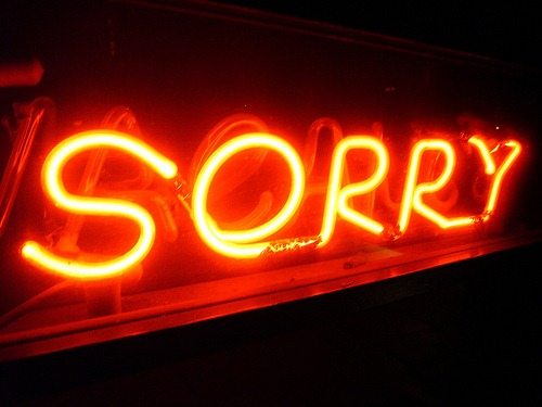 Maybe love means not ever having to say youre sorry but in business sometimes you should  The Phoenix Real Estate Guy